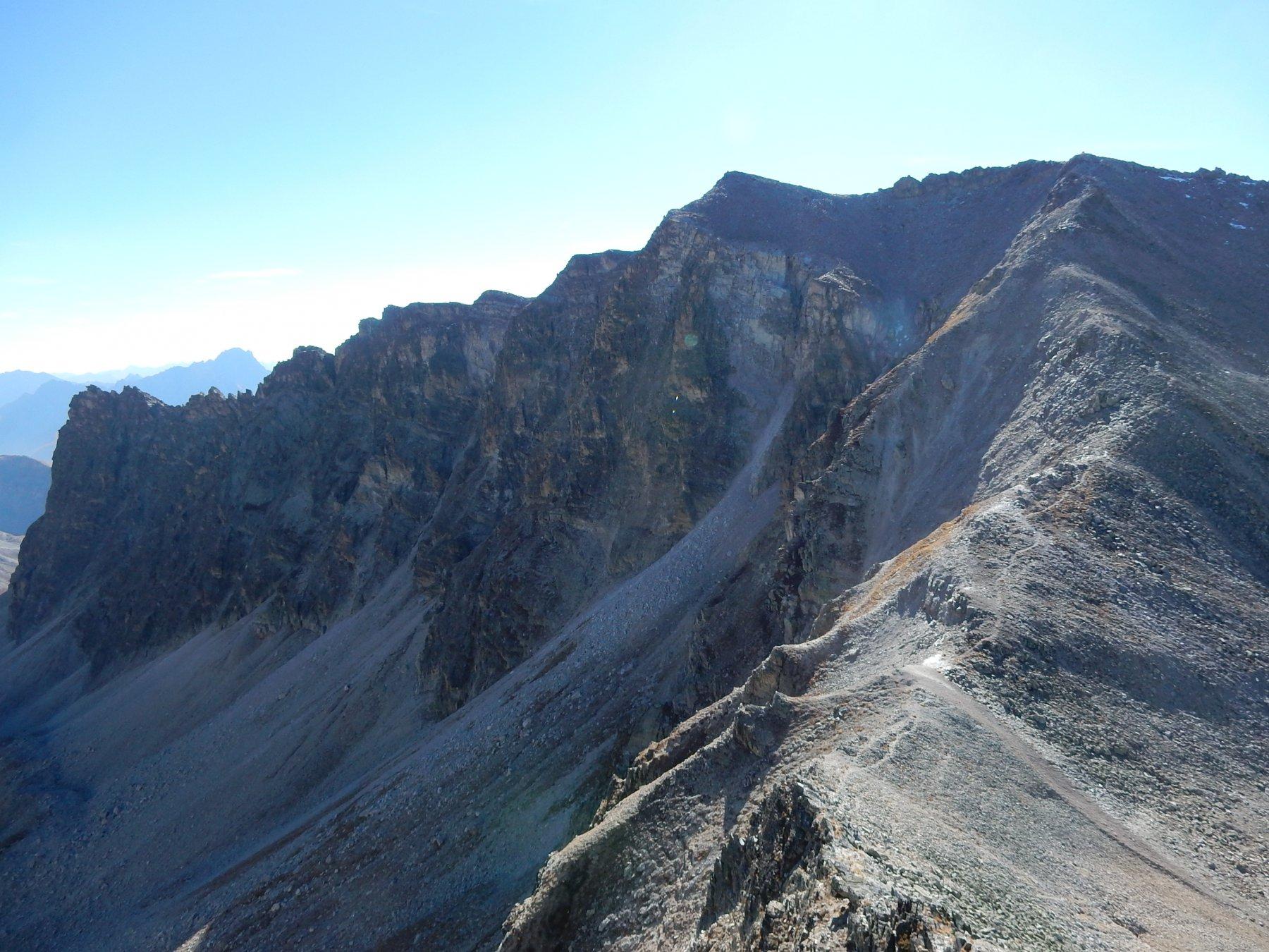 l'intera traversata vista dal Monte di Ciabriera