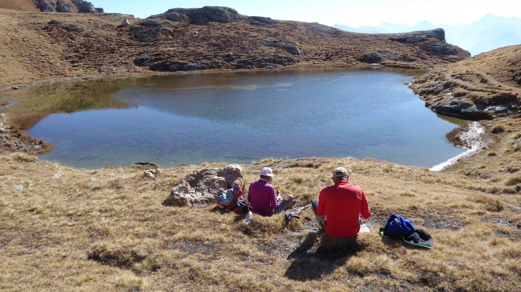 Il lago sotto il M.Morion   2500 m.