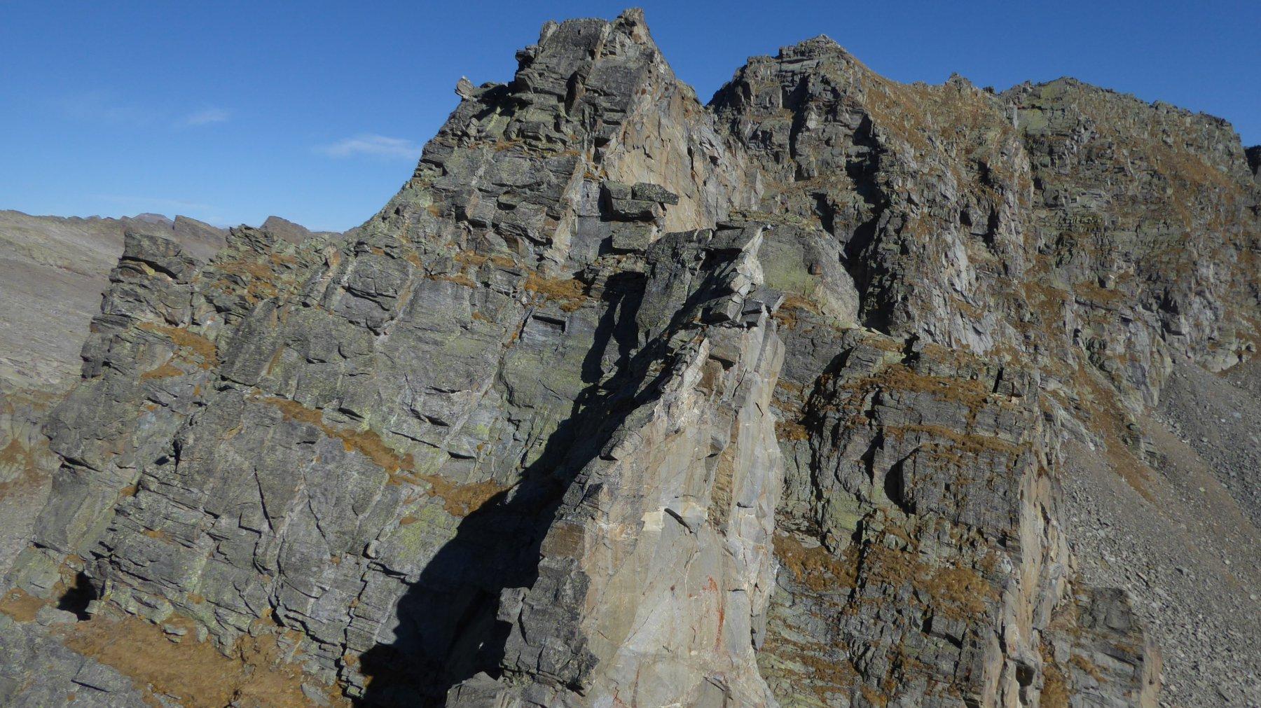 Prafiorito (Costa o Cresta di) quota 2836 m da Tressi per l'Alpe Giavino 2017-10-20