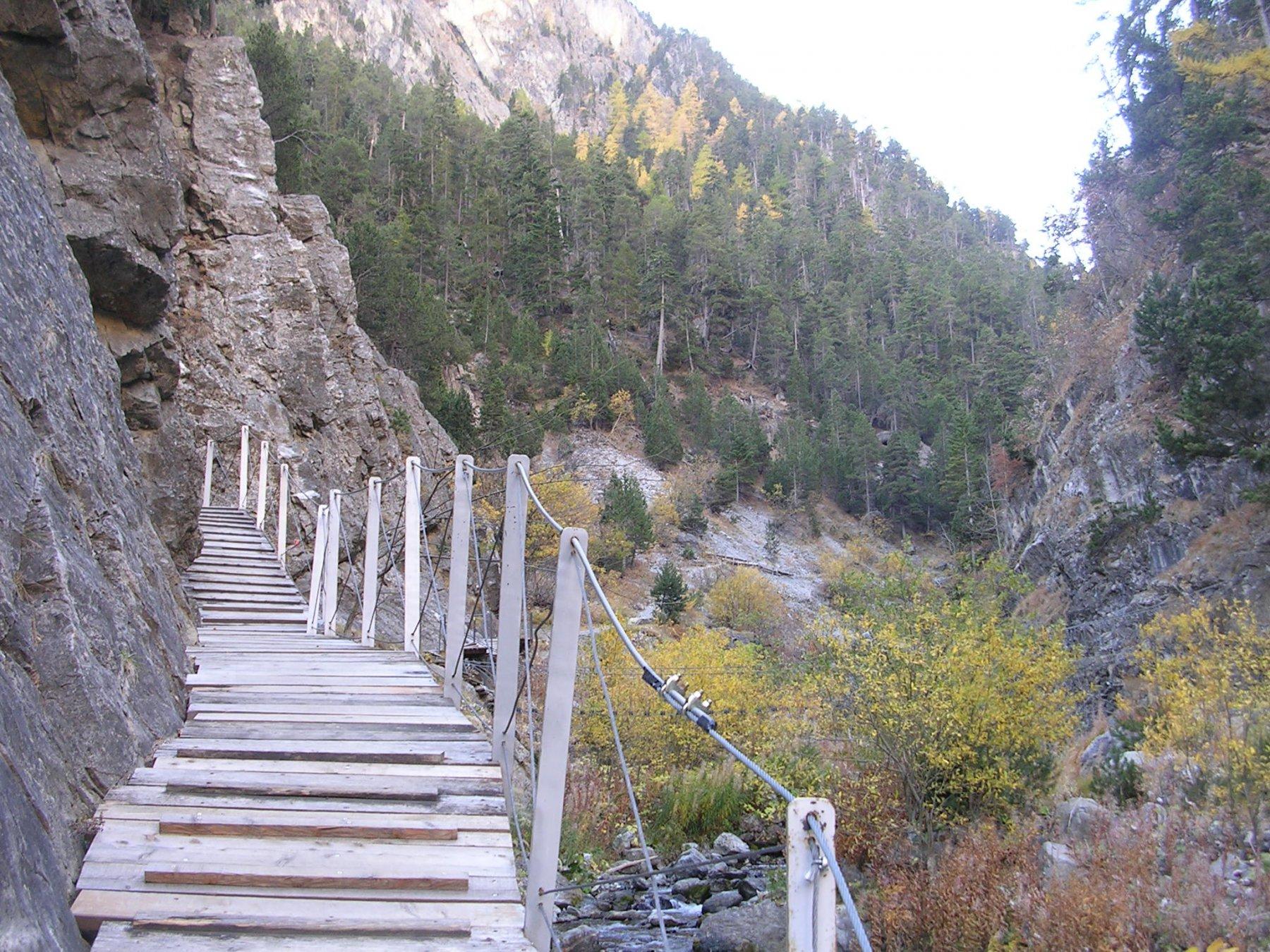 Il sentiero di accesso