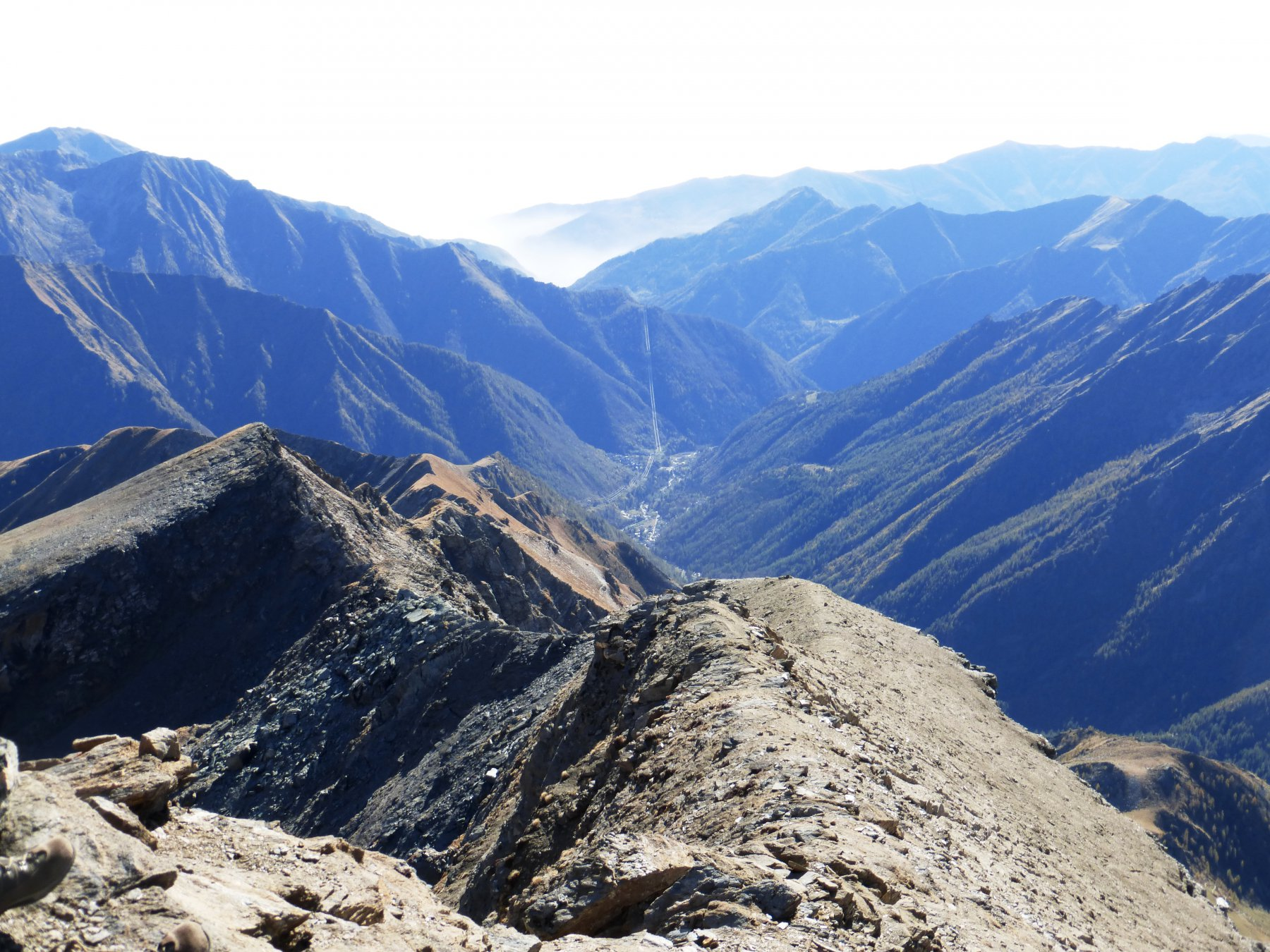 uno sguardo sulla Val Soana credo Campiglia o Pianprato