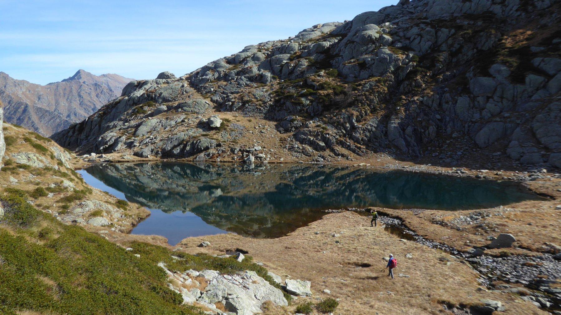 Lago inferiore della Buffa