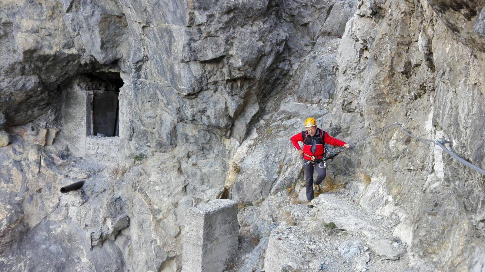 Chaberton (Monte) Ferrata delle Batterie del Petit Vallon 2017-10-25