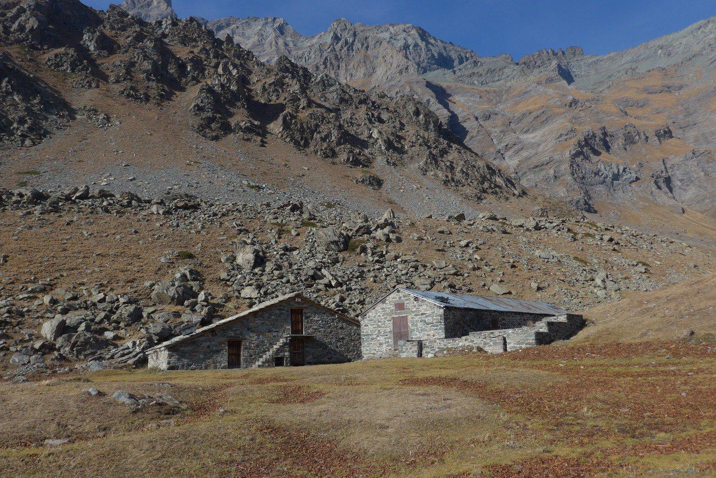 L'Alpe Ciamarella, una delle poche ancora in ottime condizioni