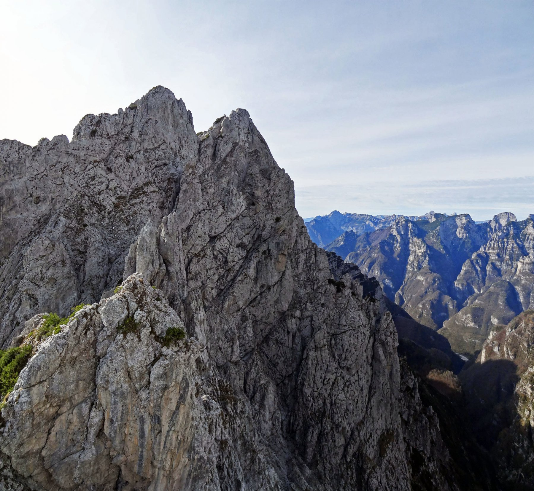 Pinèi (Pale dei)dalla Stanga per Forcella Odèrz ed il Viàz dei Camòrz 2017-10-25