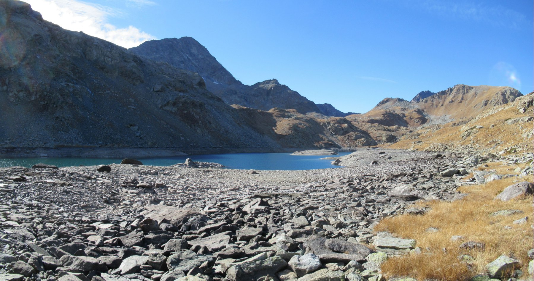 Gran Lago con livello molto basso