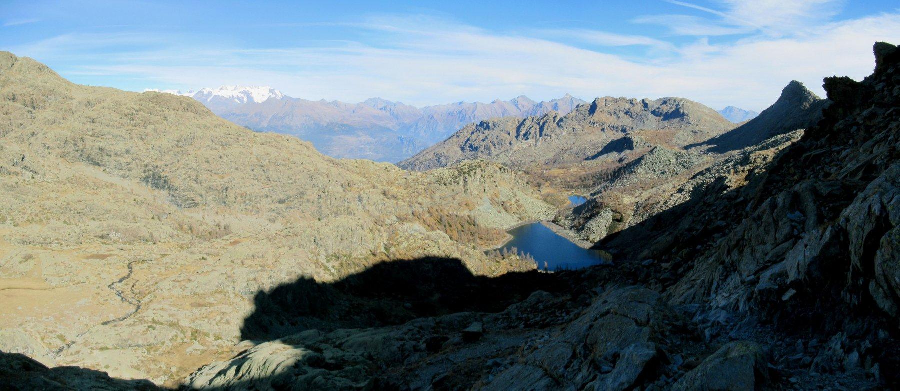 Vista sul Lago Nero e Lago Cornuto