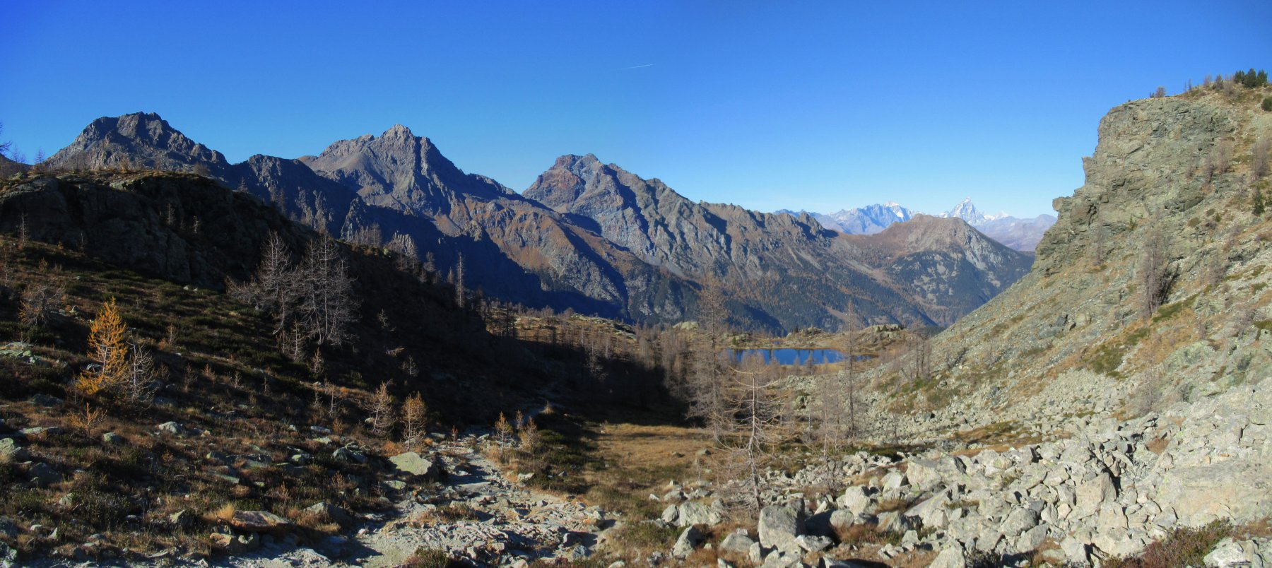 Gran Lago da Mont Blanc 2017-10-26