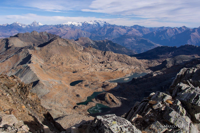 Dal Mont Glacier, il Gran Lago