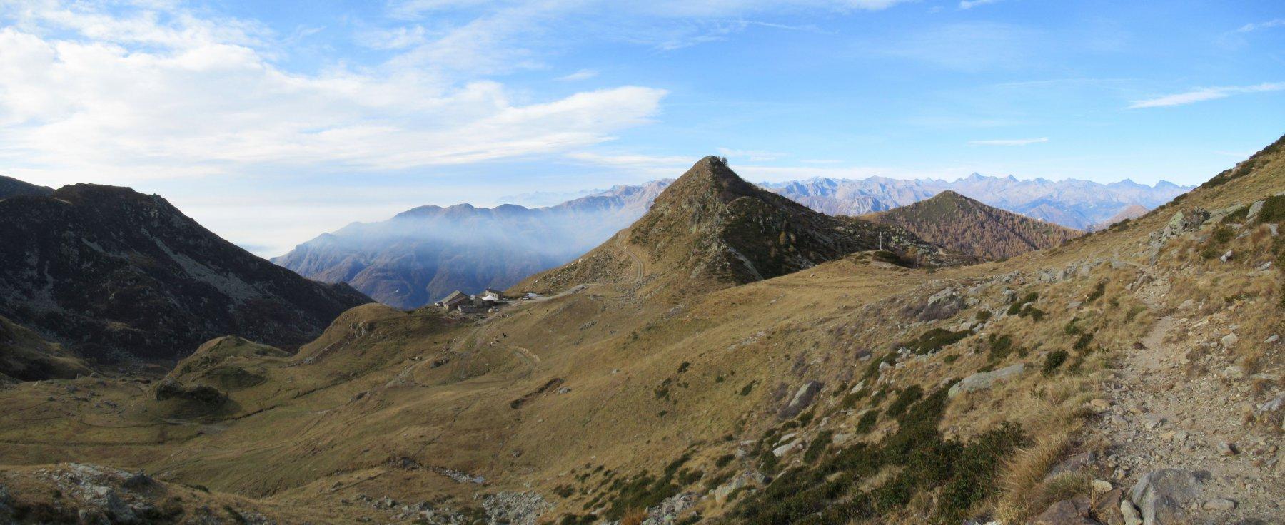 Alpe Bechera e Col Giassit