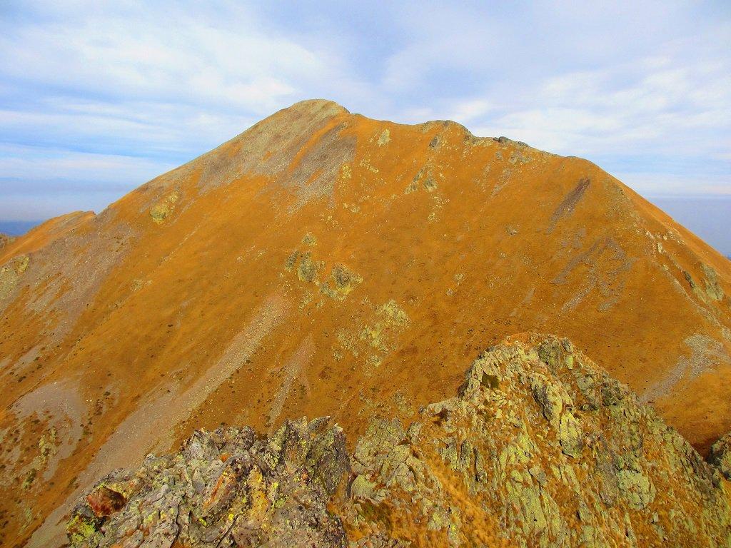 Cima Lausetto vista dalla cima Vagliotta