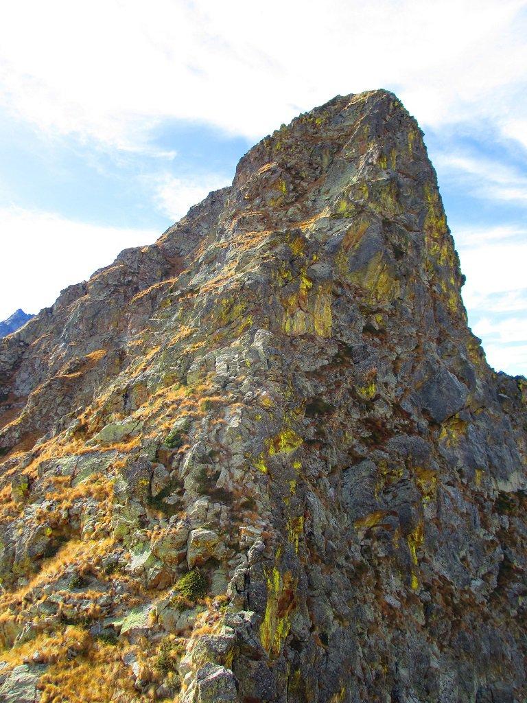 La prima punta verso la cima Vagliotta