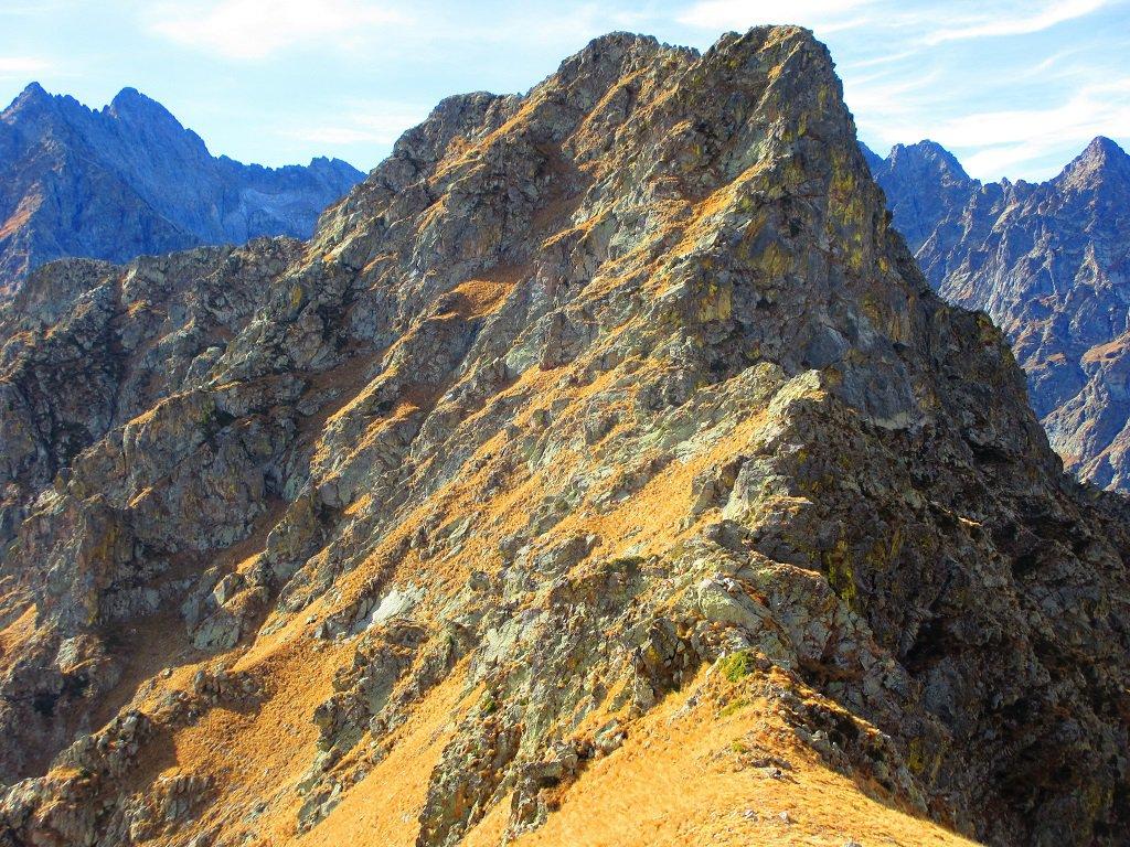 La cima Vagliotta vista dal Passo Barra