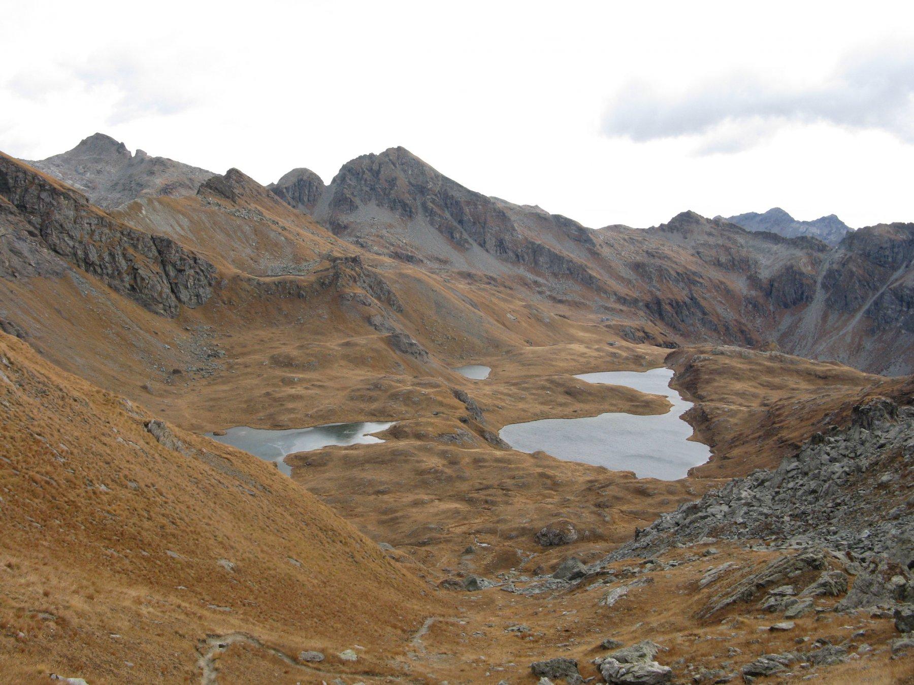 Lago della Battaglia e Lago Pocia
