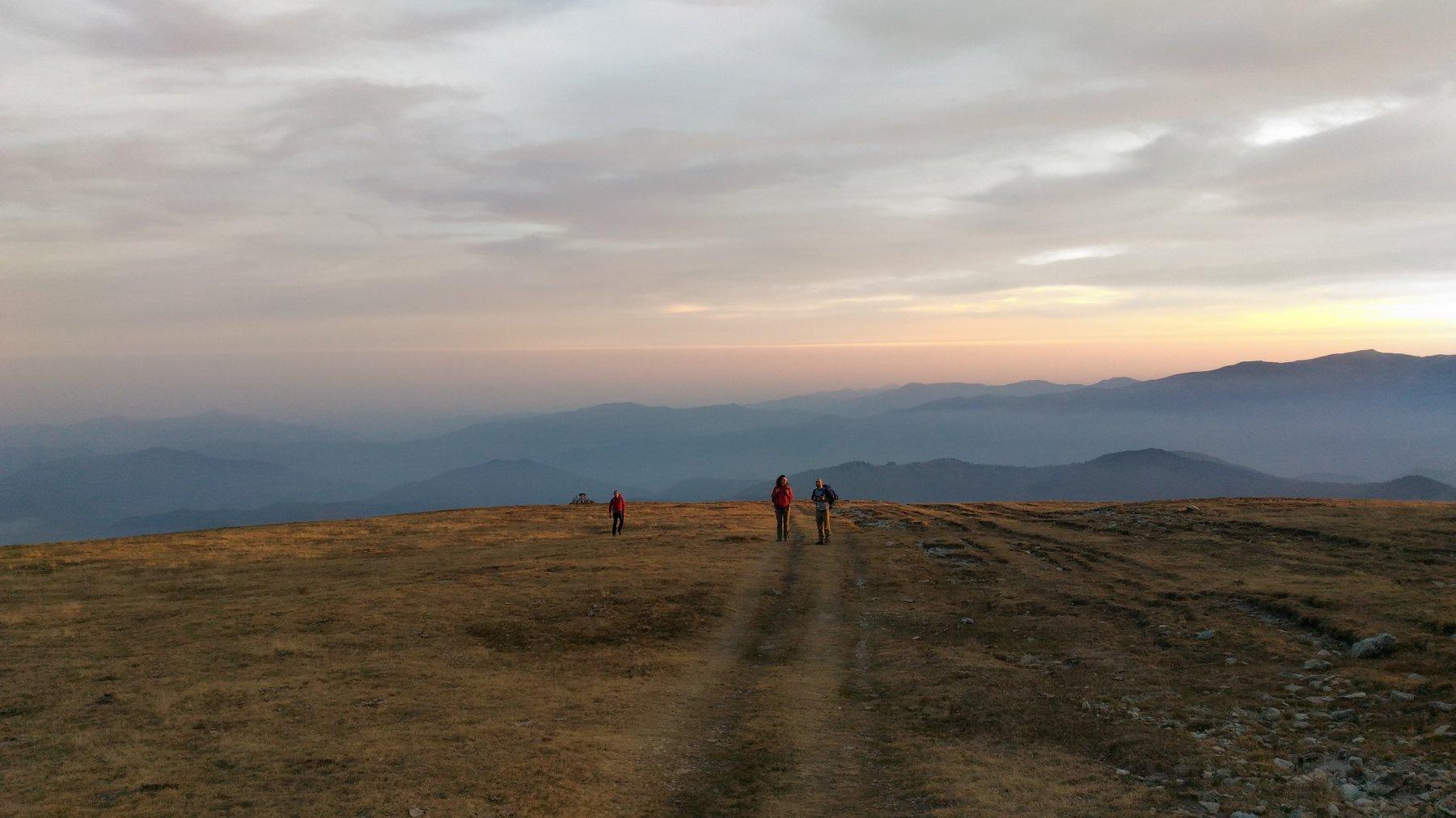 Salendo all'Alpe degli Archetti