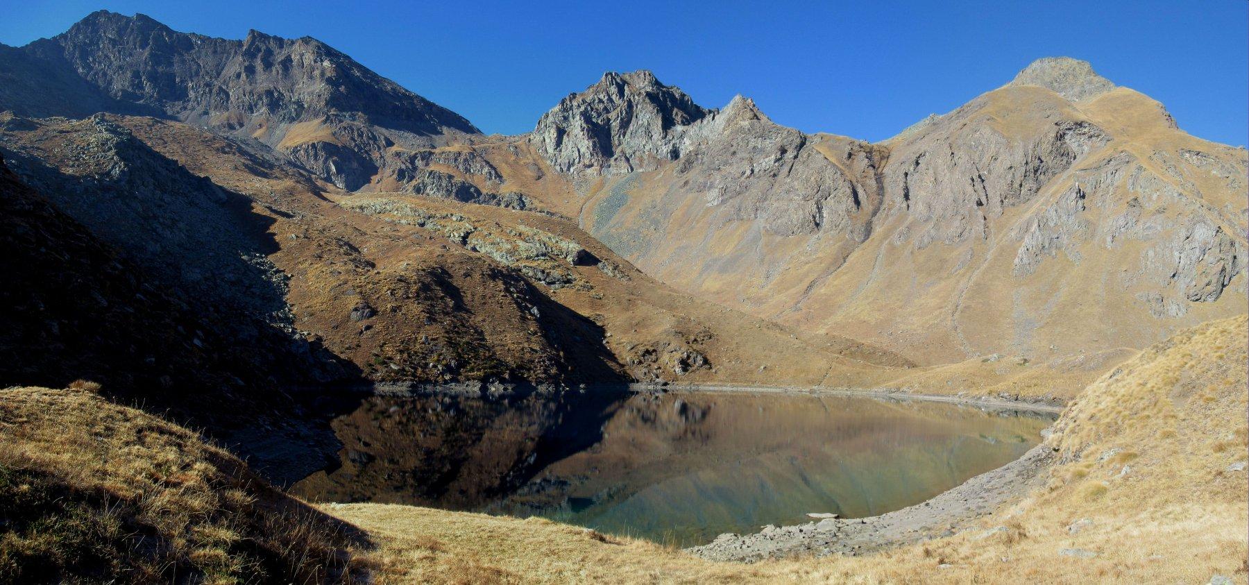 Lago Lavodilec con Piccolo e Grand Avert