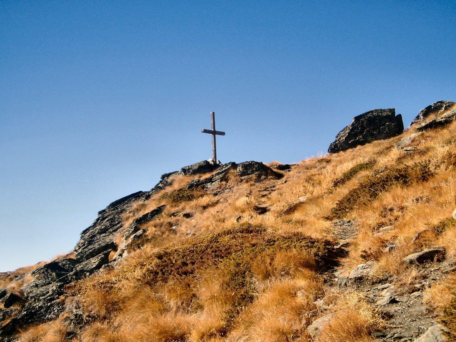 Croce dell'anticima.