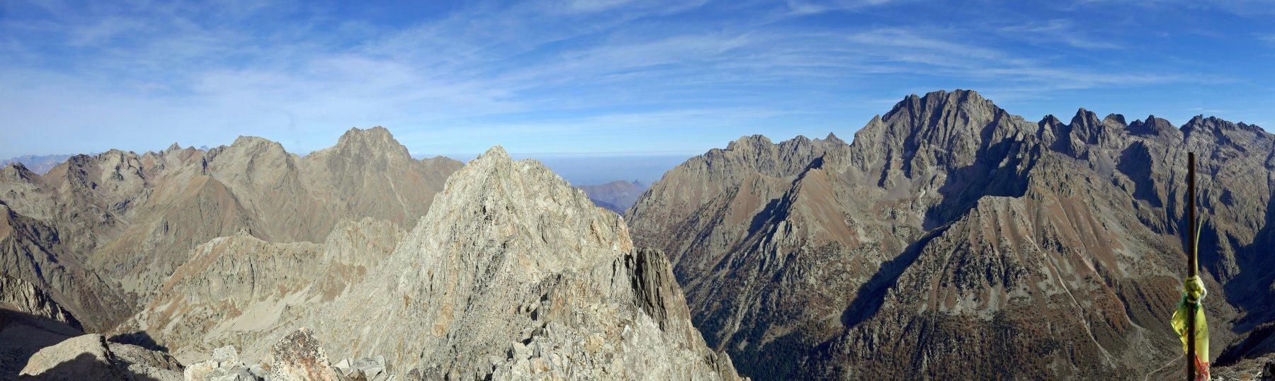 Panoramica dalla Testa Sud di Bresses