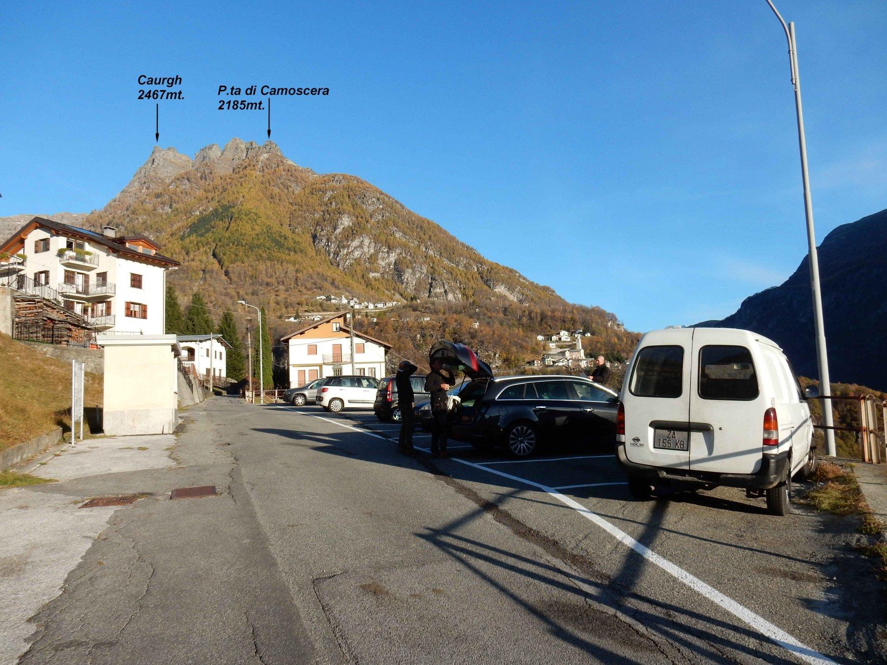 Parcheggio di Olmo 1056mt.