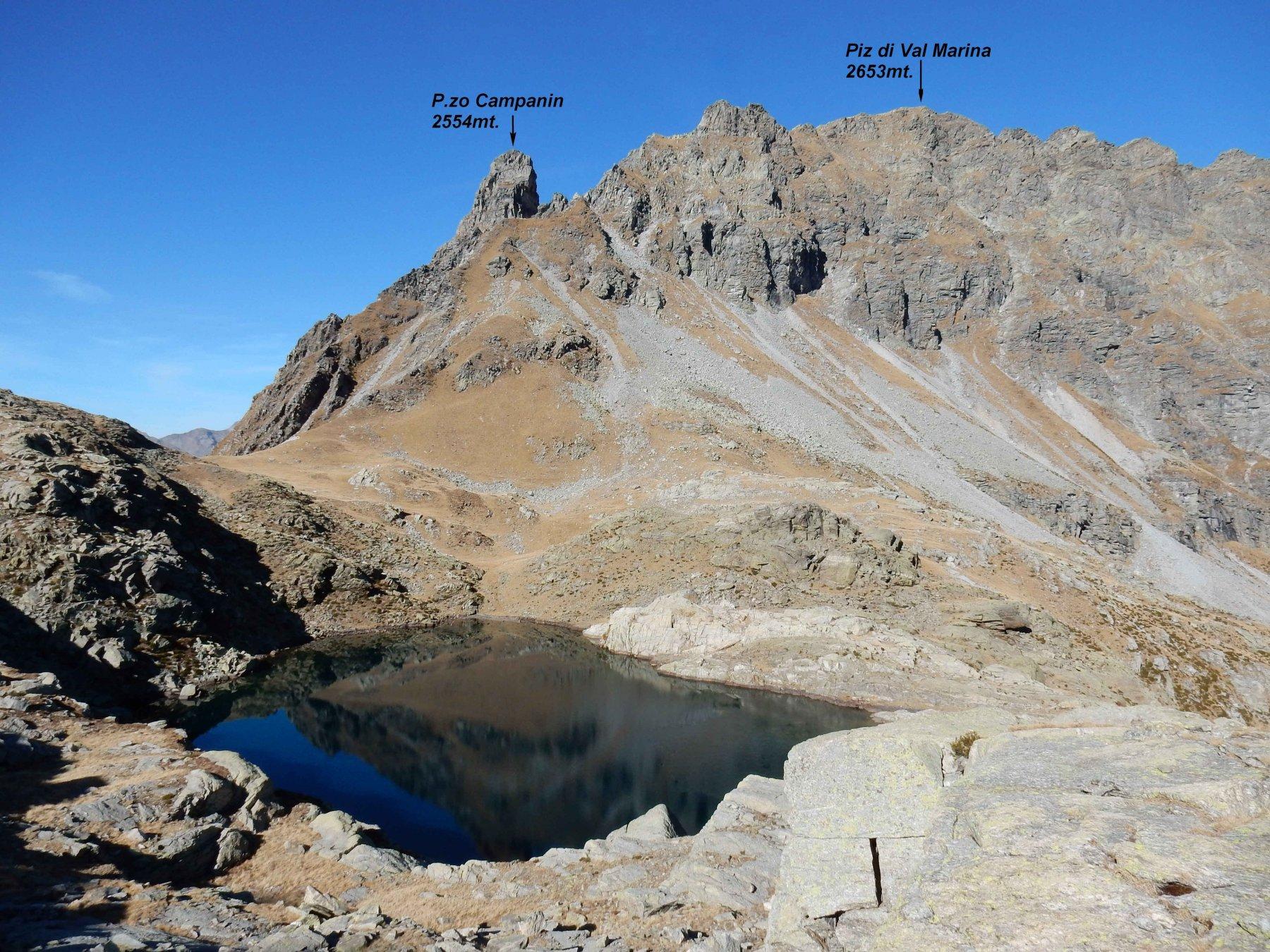 Lago di Caprara 2280mt.
