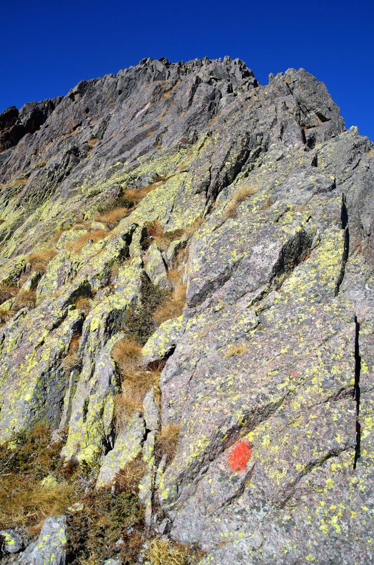 Attacco della cresta sud-est del Torretta