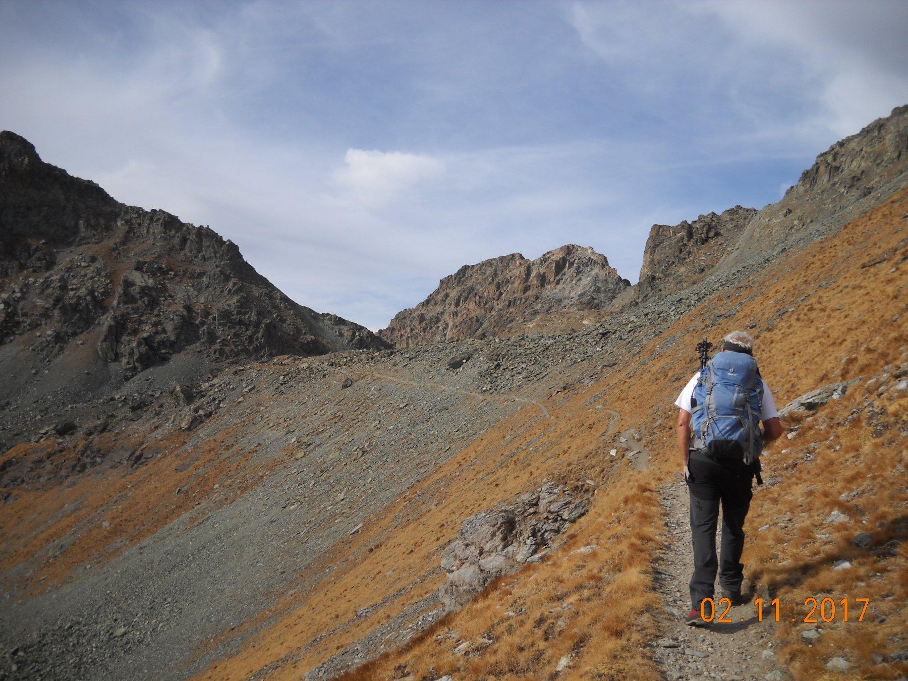 verso il passo San Chiaffredo