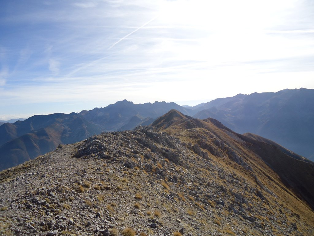 Cresta direzione Bec d'Orel