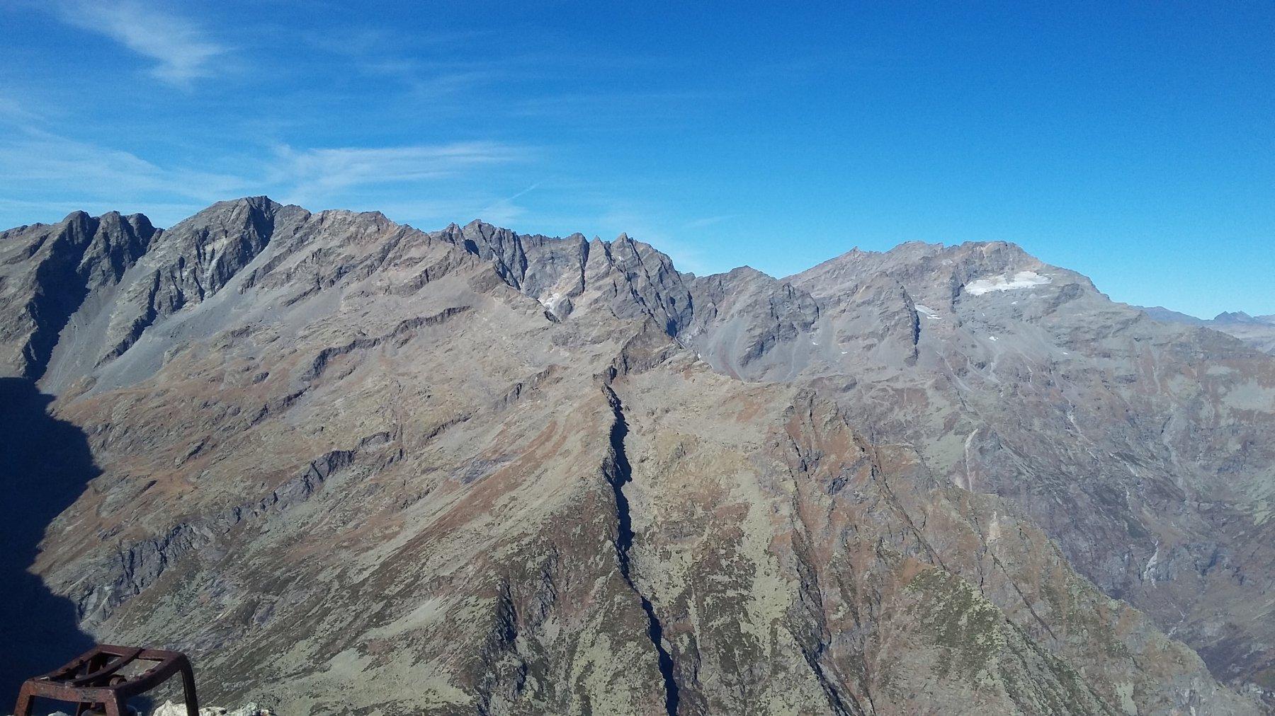 panorama sulle Levanne