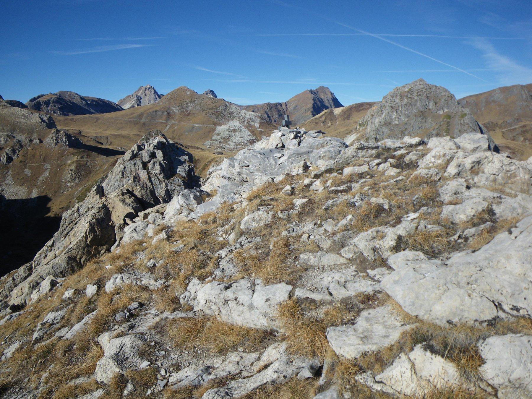 Rocca Parvo in cima