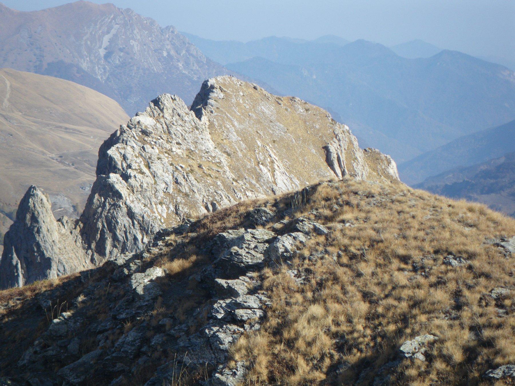 Rocca Parvo dall cima 2488