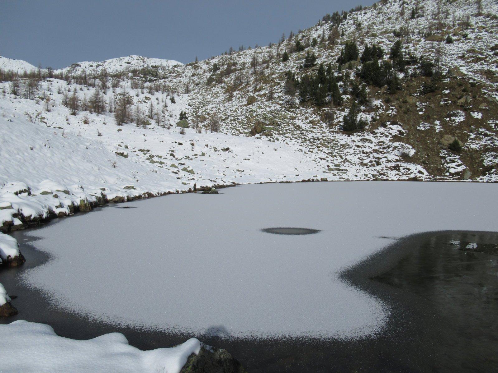 Lago Muffé semi-gelato