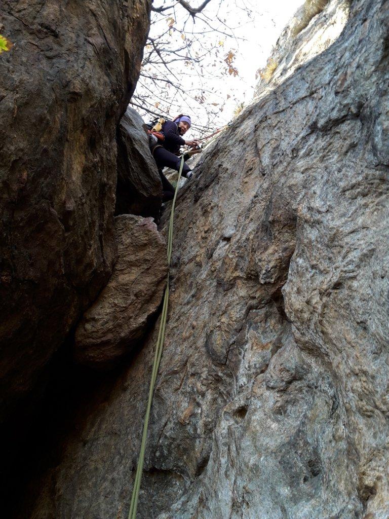 calata nel canyon