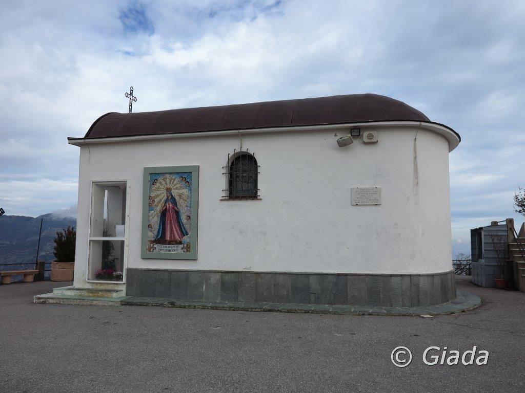 La piccola cappelletta del Santuario