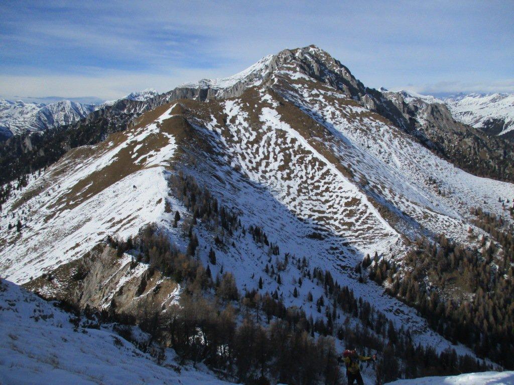 Monte secco dal Badile