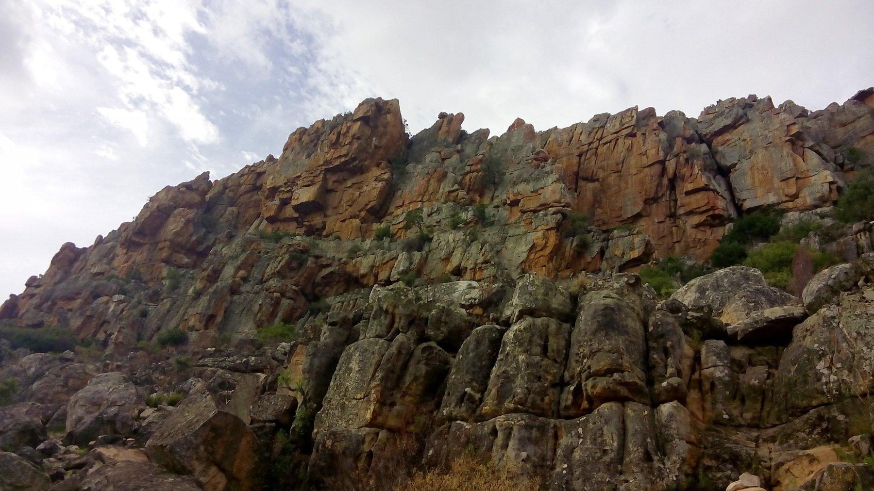 Cederberg Sanddrif Crag 2017-11-14