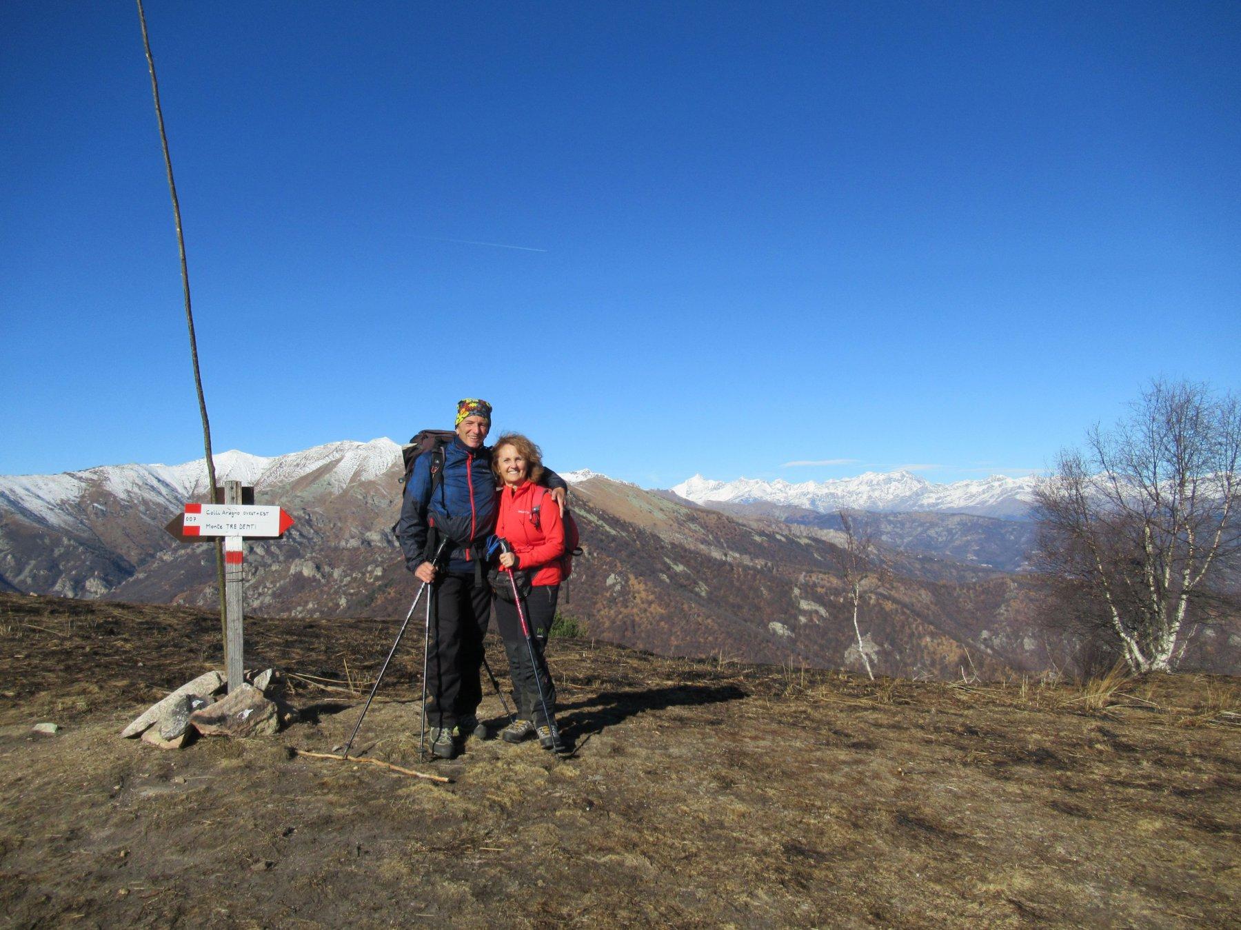Con mia moglie al Freidour
