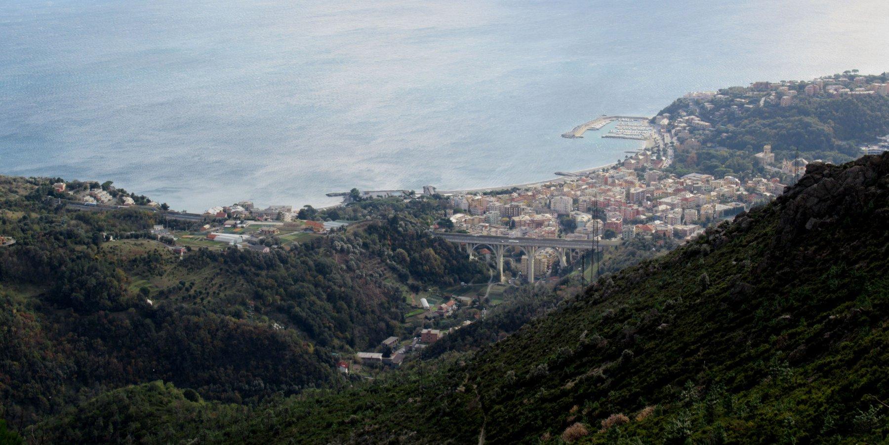 Panorama su Arenzano