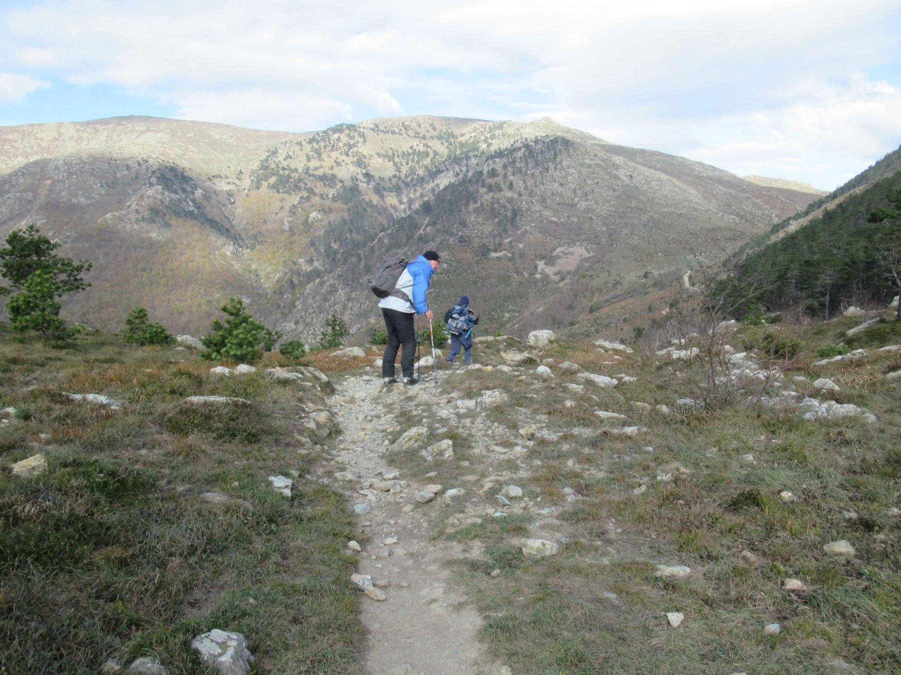 Passo della Gavetta ... con vento impetuoso