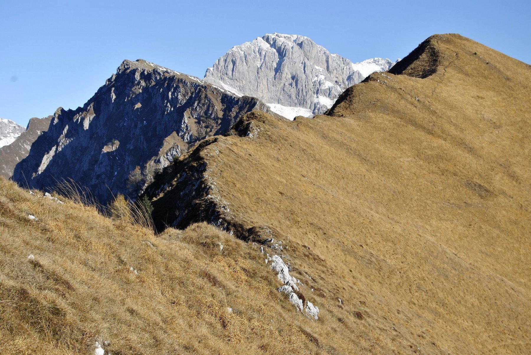 Valsacco (Monte) da Clusone per i monti Simer, Blum e Parè 2017-11-16