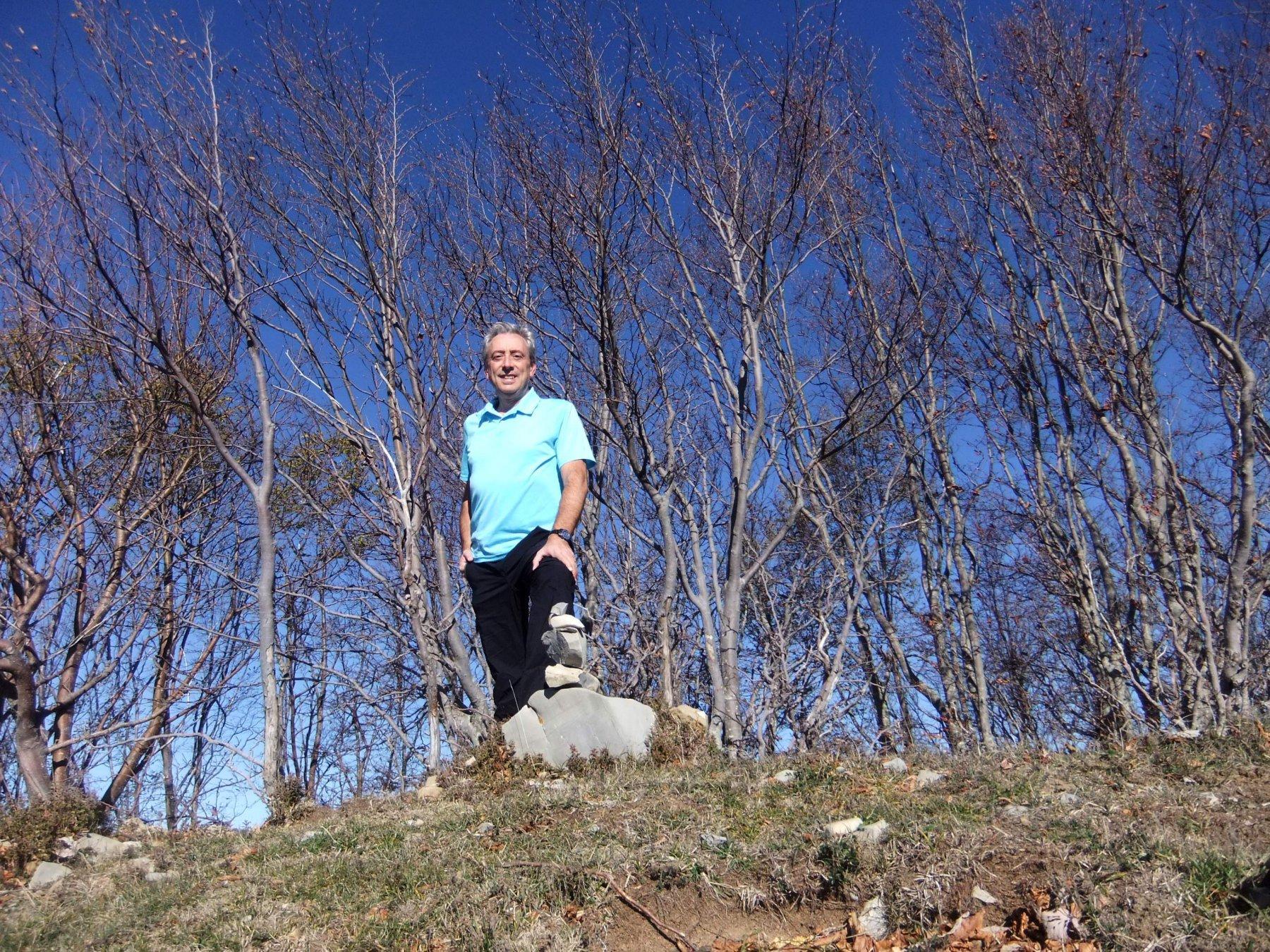 In cima al Monte Sotto Garzo