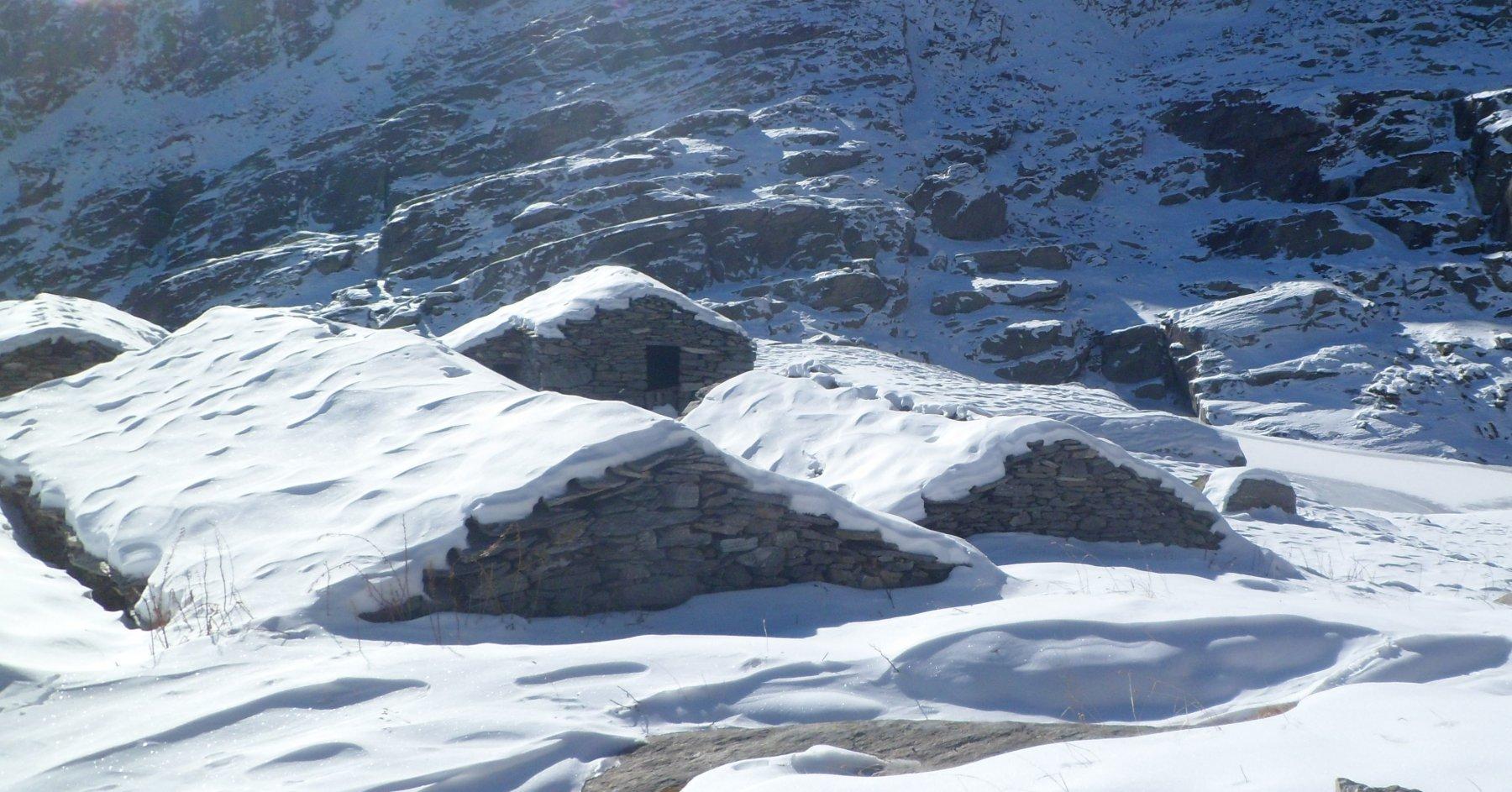L'Alpe Boiret superiore e il lago