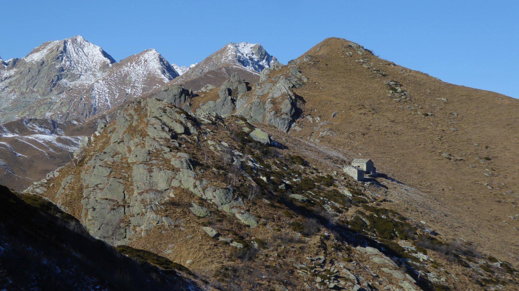 Alpe San Rocco e Uja d'Ingria