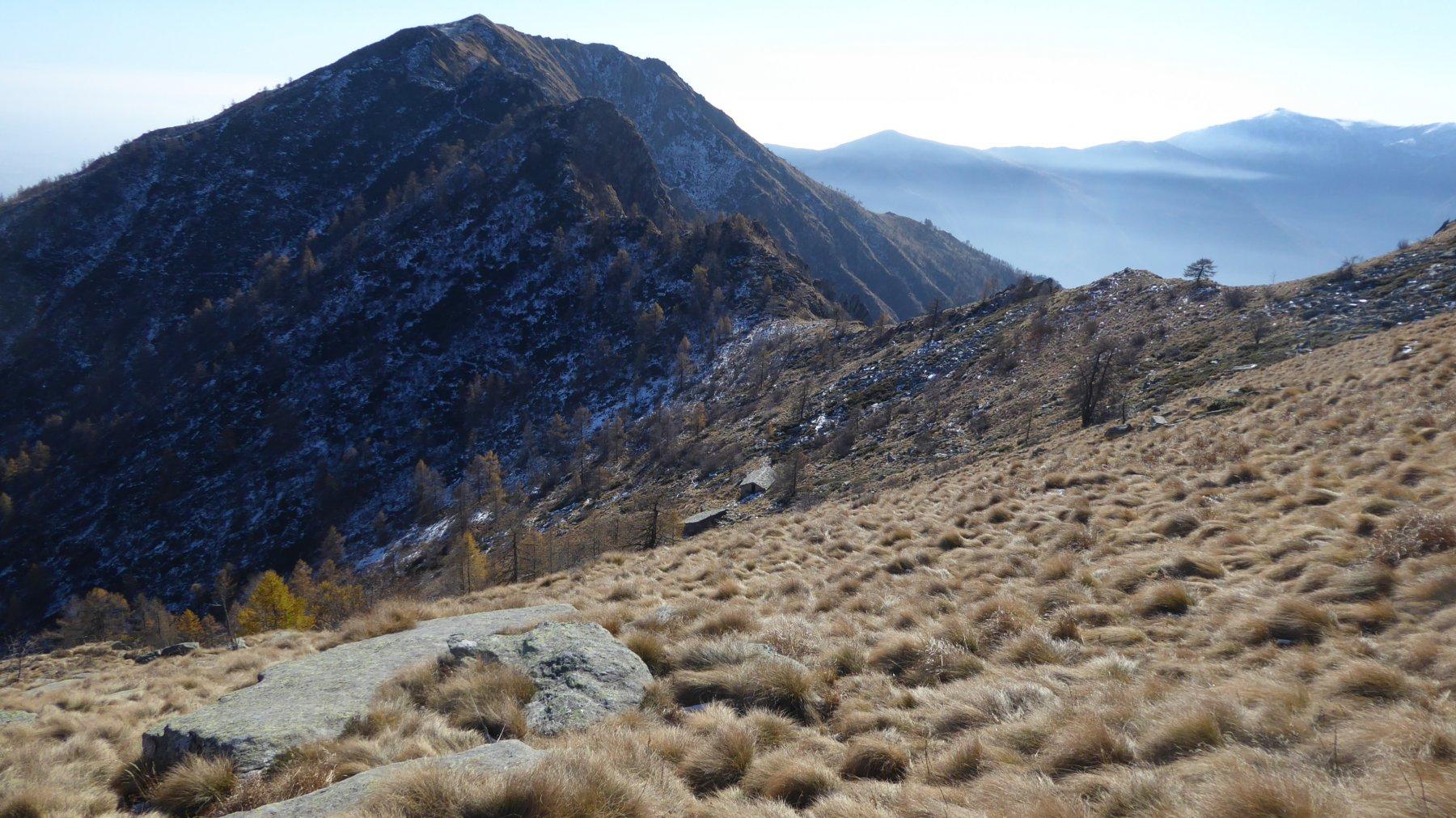 Discesa all'Alpe Nuovo