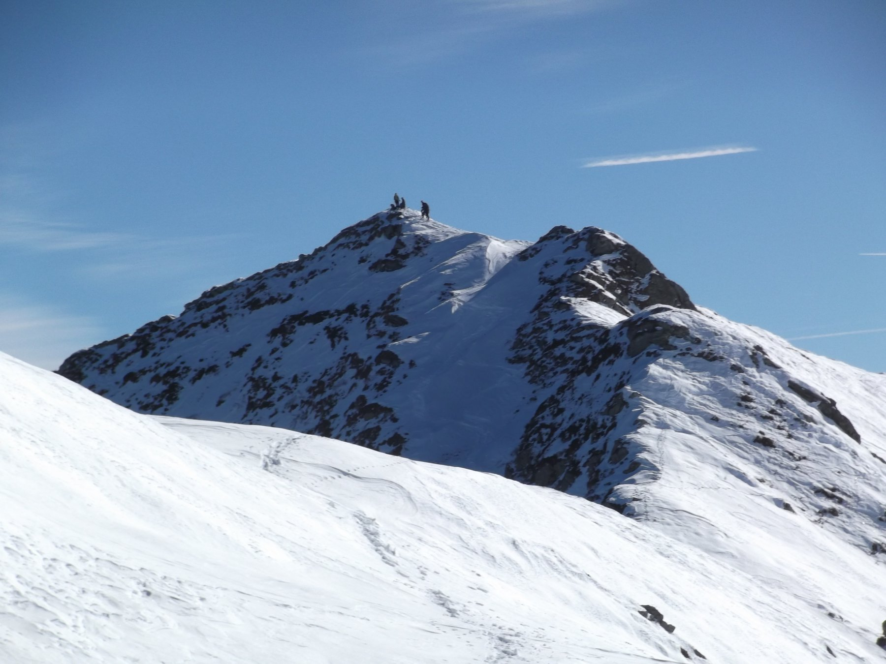 Monte Grum da sotto il Bram.