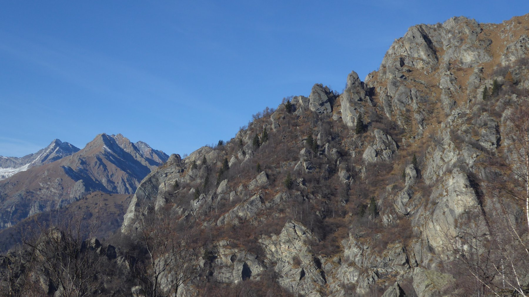 Monte Alto a destra