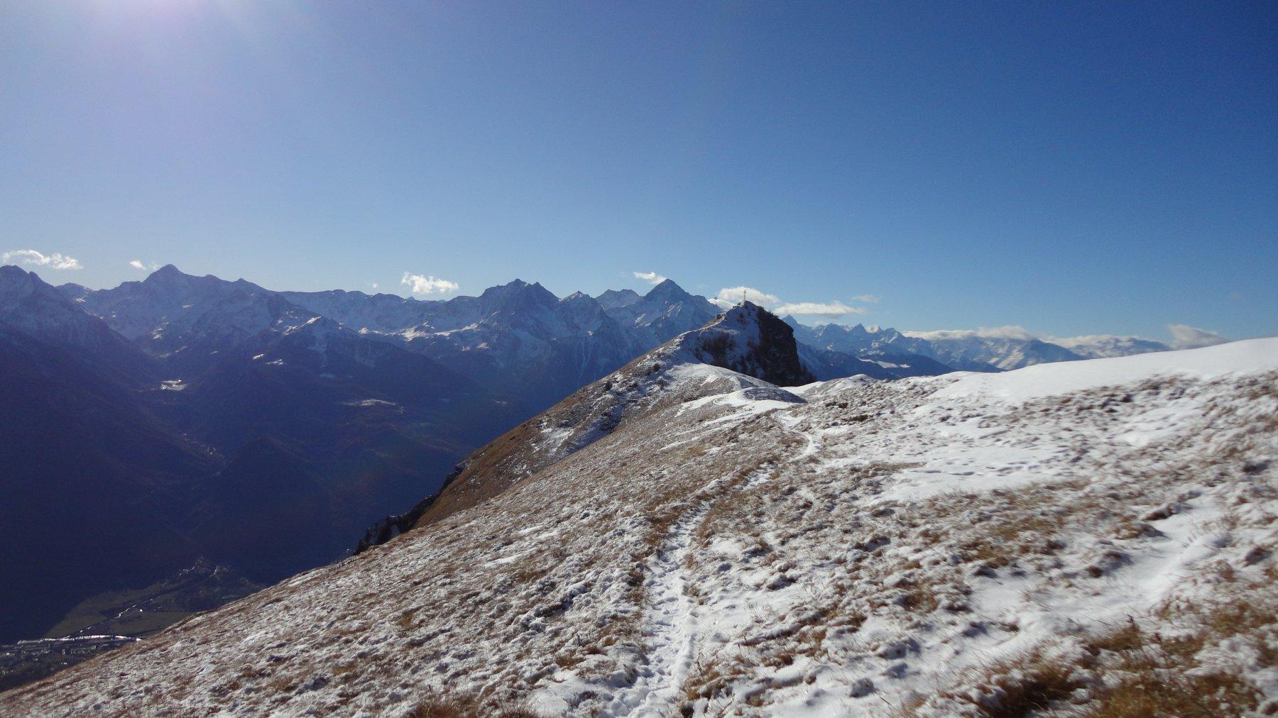 Sentiero tra le due cime