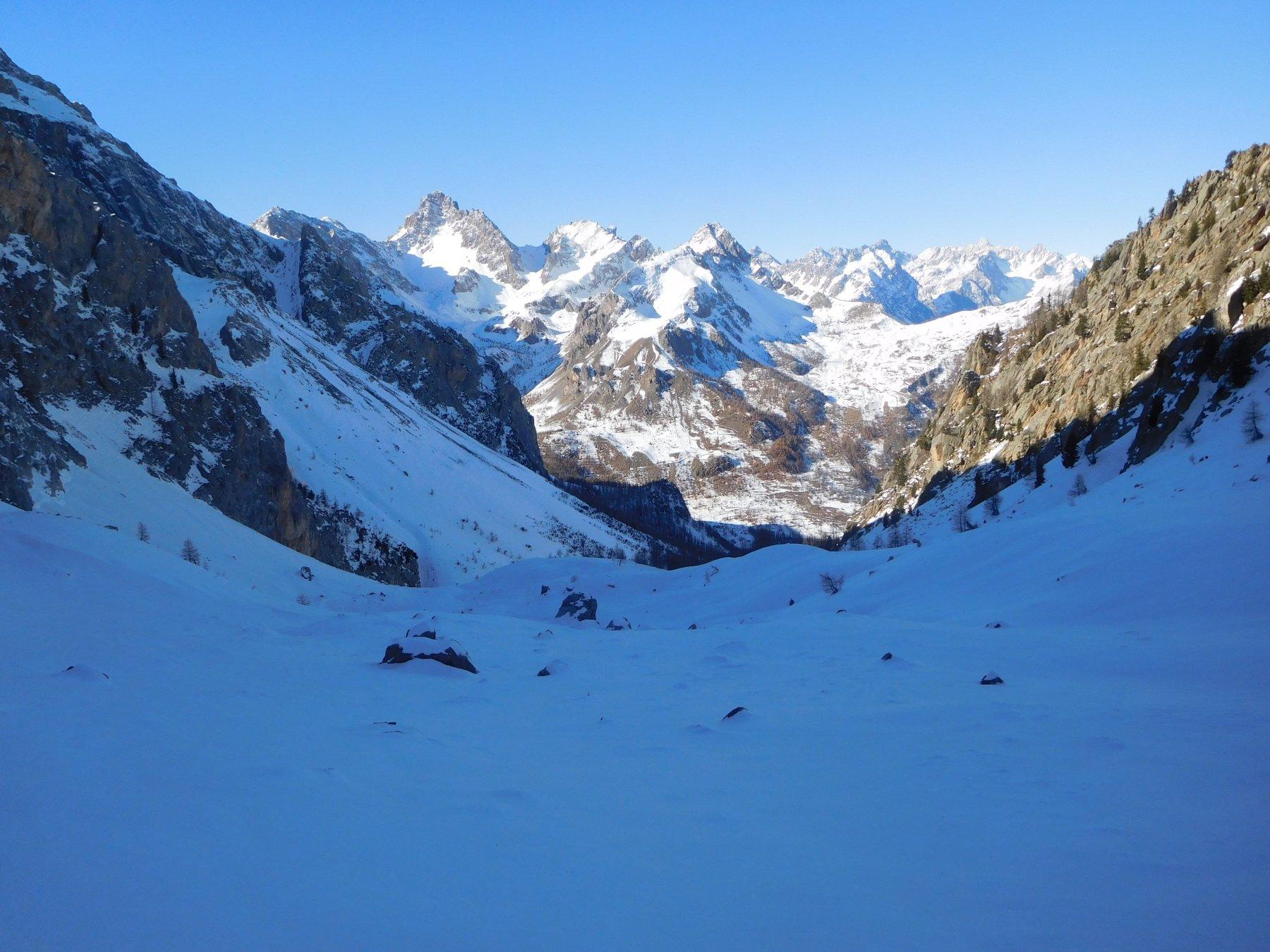 Cumbal del Vallonetto - parte mediana