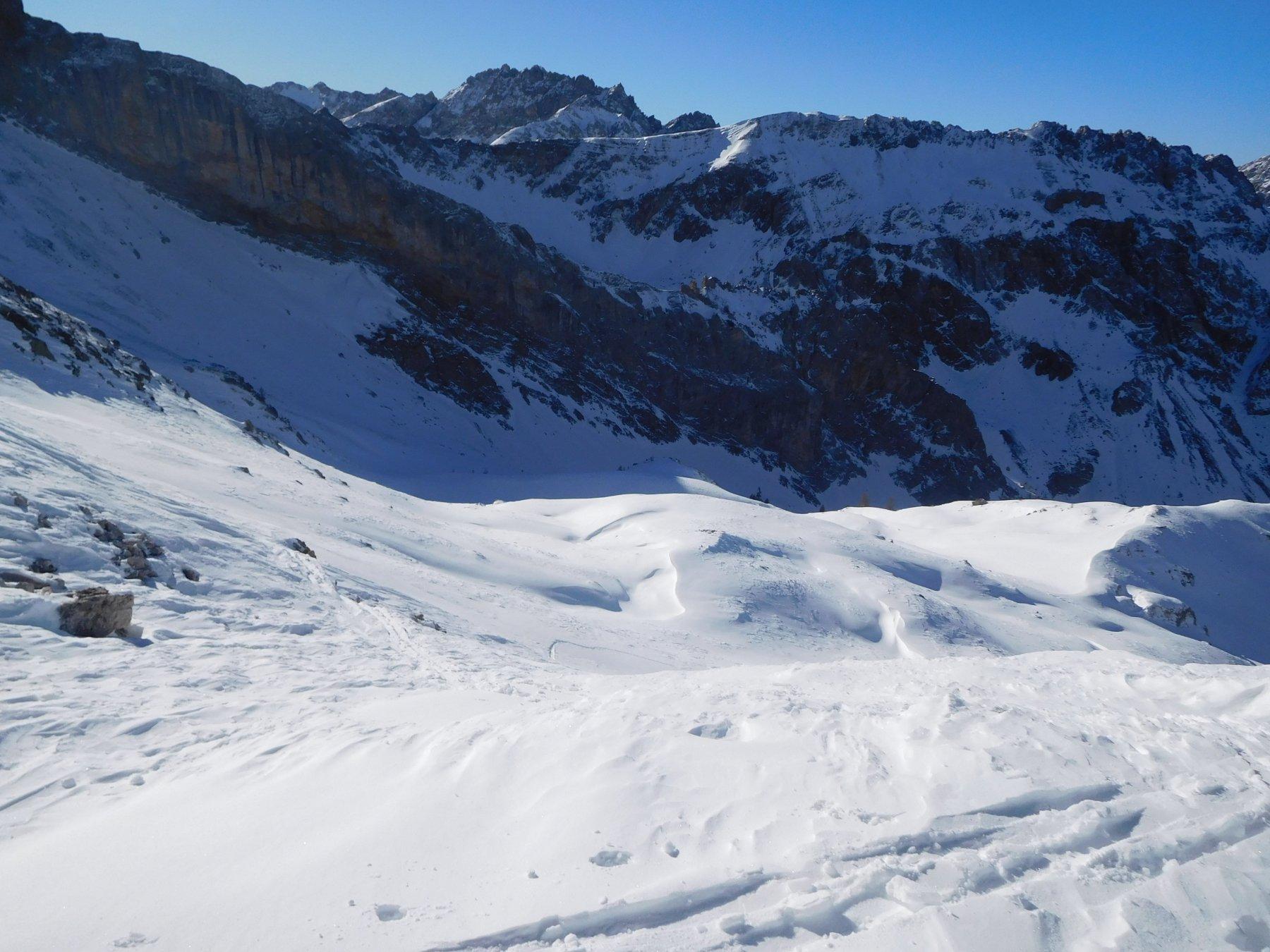 Cumbal del Vallonetto - parte alta