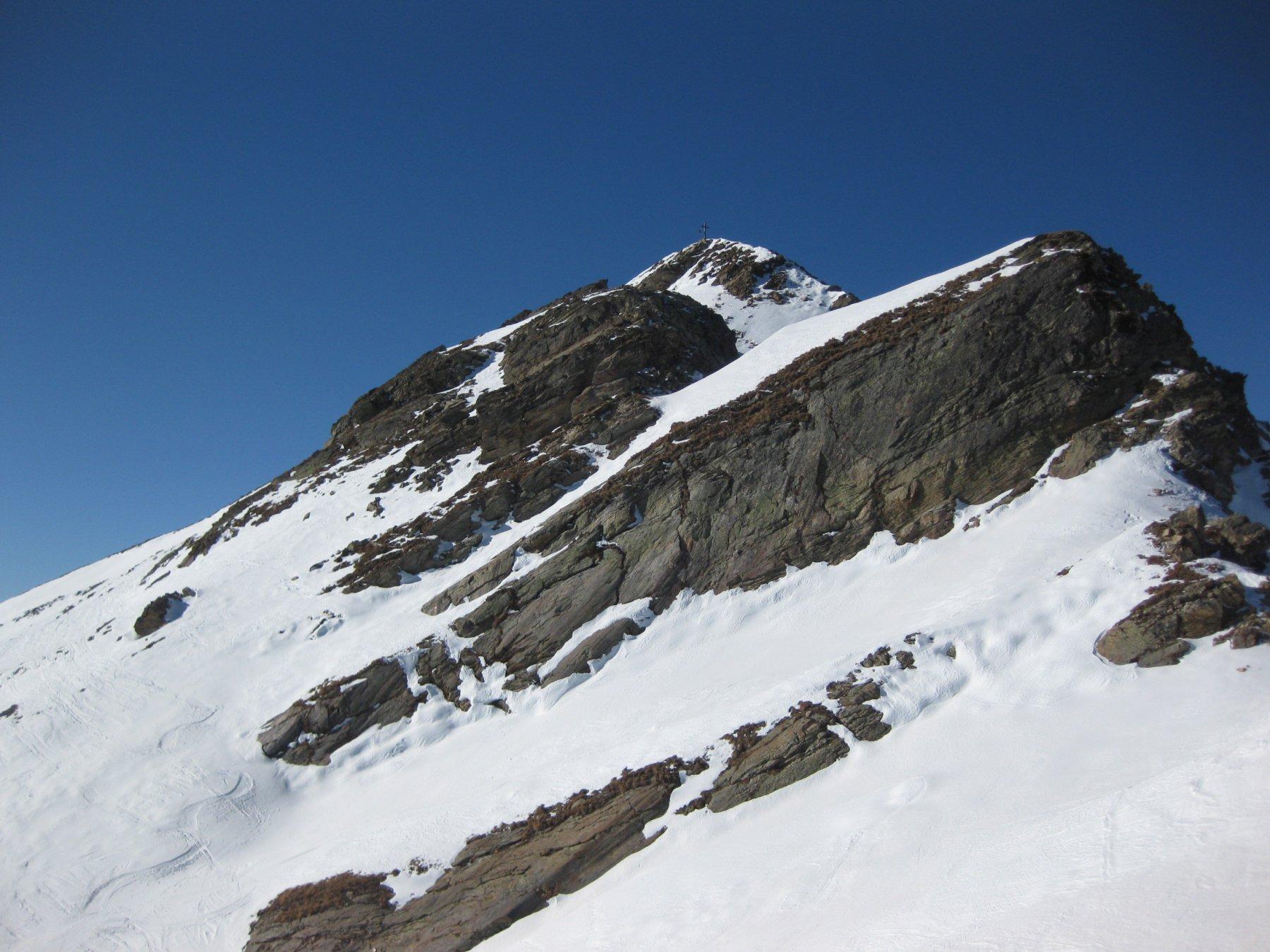 parte finale verso la cima