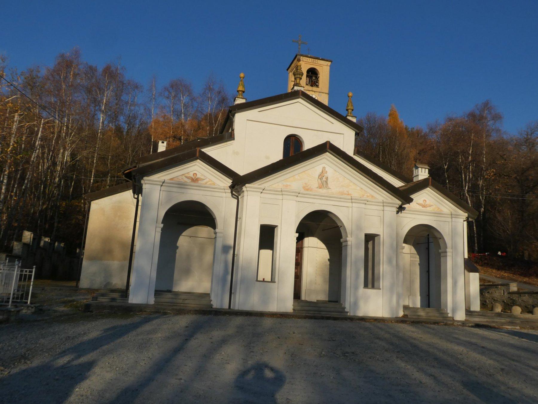 partenza da santuario Madonna dei Milani